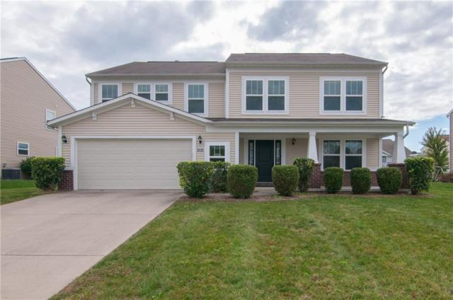 5367 Misthaven Lane, Greenwood, IN 46143 (MLS #21600352) :: The Evelo Team