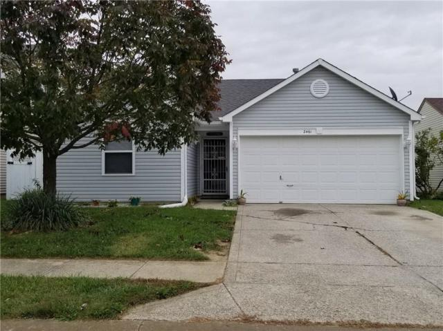 2461 Harvest Moon Drive, Greenwood, IN 46143 (MLS #21601028) :: The Evelo Team