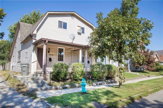 702-704 E Sanders Street, Indianapolis, IN 46203 (MLS #21601157) :: The Indy Property Source