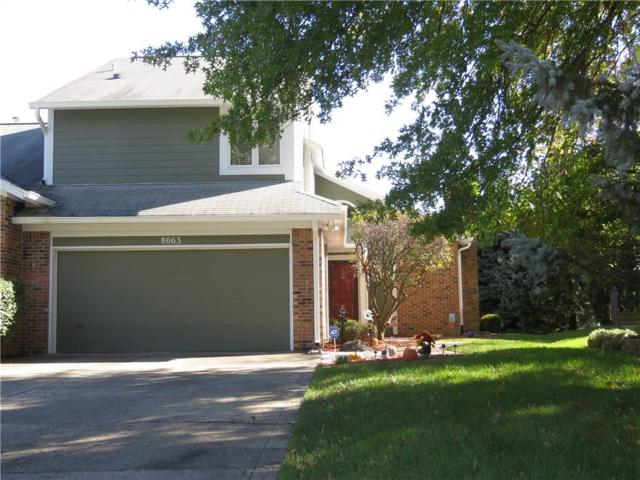8063 Foxchase Drive, Indianapolis, IN 46256 (MLS #21601577) :: AR/haus Group Realty