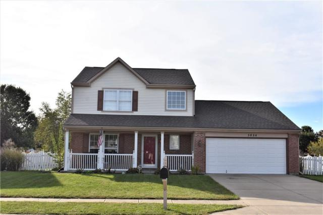 5854 Pennekamp Drive, Plainfield, IN 46168 (MLS #21601747) :: The Evelo Team