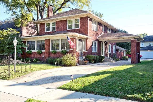 5131 N Delaware Street, Indianapolis, IN 46205 (MLS #21602969) :: The Indy Property Source