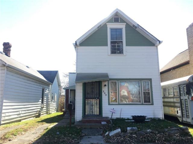 303 E Morris Street, Indianapolis, IN 46225 (MLS #21603007) :: HergGroup Indianapolis