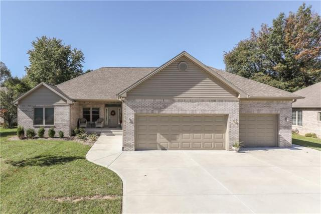 814 Paris Drive, Franklin, IN 46131 (MLS #21603151) :: FC Tucker Company