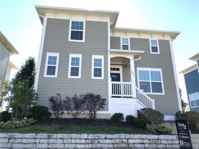 7633 Beekman Terrace, Zionsville, IN 46077 (MLS #21603319) :: FC Tucker Company