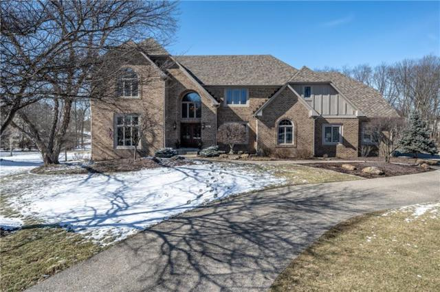 696 Nottingham Court, Carmel, IN 46032 (MLS #21604405) :: David Brenton's Team