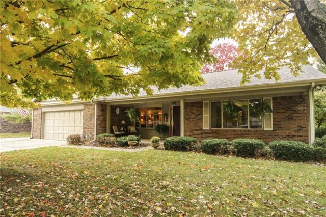 135 Lexington Drive, Zionsville, IN 46077 (MLS #21604831) :: AR/haus Group Realty