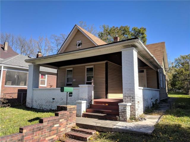 1033 Tecumseh Street, Indianapolis, IN 46201 (MLS #21604930) :: The ORR Home Selling Team
