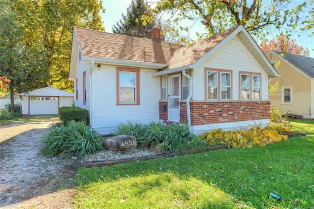 4951 W 25th Street, Speedway, IN 46224 (MLS #21605100) :: Mike Price Realty Team - RE/MAX Centerstone