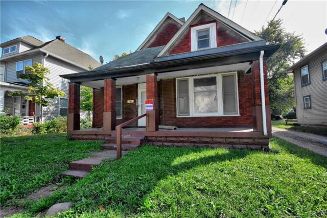 351 W 28th Street, Indianapolis, IN 46208 (MLS #21605256) :: Mike Price Realty Team - RE/MAX Centerstone