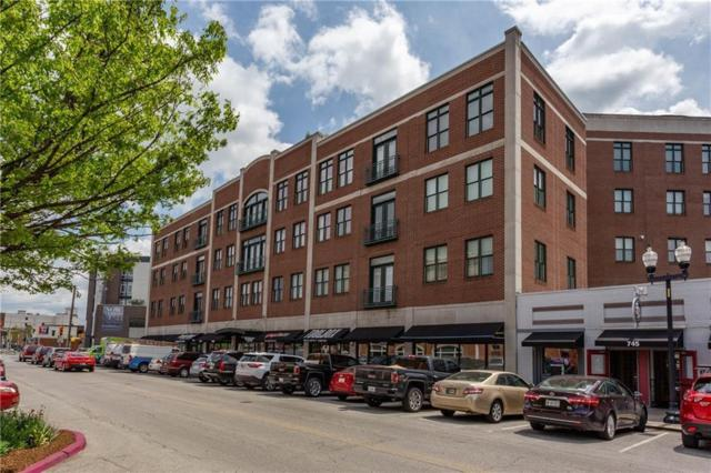 757 Massachusetts Avenue #402, Indianapolis, IN 46204 (MLS #21605364) :: AR/haus Group Realty