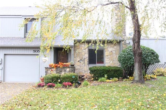 505 Conner Creek Drive, Fishers, IN 46038 (MLS #21605400) :: AR/haus Group Realty