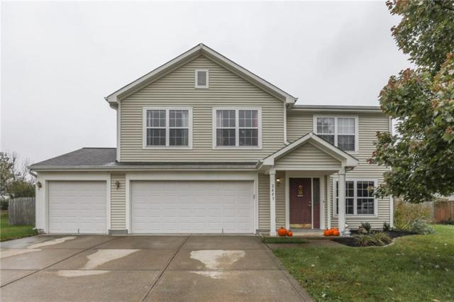 2883 Big Cone Court, Whiteland, IN 46184 (MLS #21605579) :: The Indy Property Source