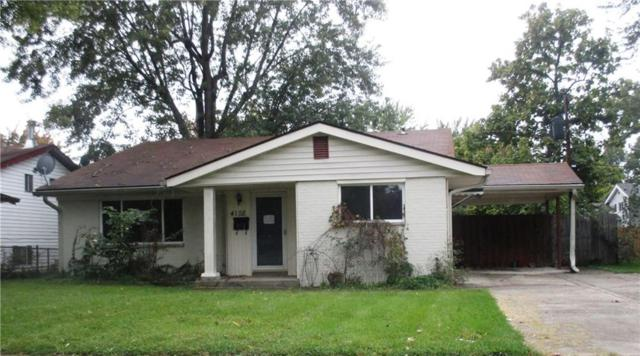 4128 Flamingo East Drive, Indianapolis, IN 46226 (MLS #21606160) :: Richwine Elite Group