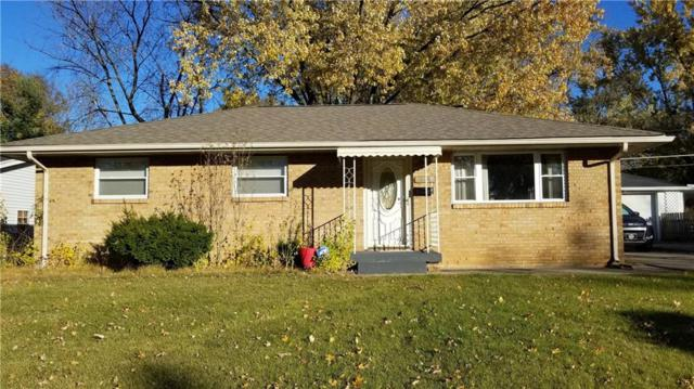 325 Gilbert Avenue, Beech Grove, IN 46107 (MLS #21606394) :: Mike Price Realty Team - RE/MAX Centerstone