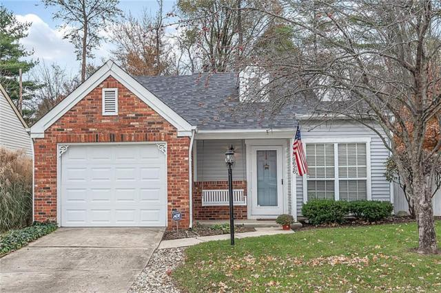 9626 Alexander Lane, Fishers, IN 46038 (MLS #21606959) :: The Evelo Team