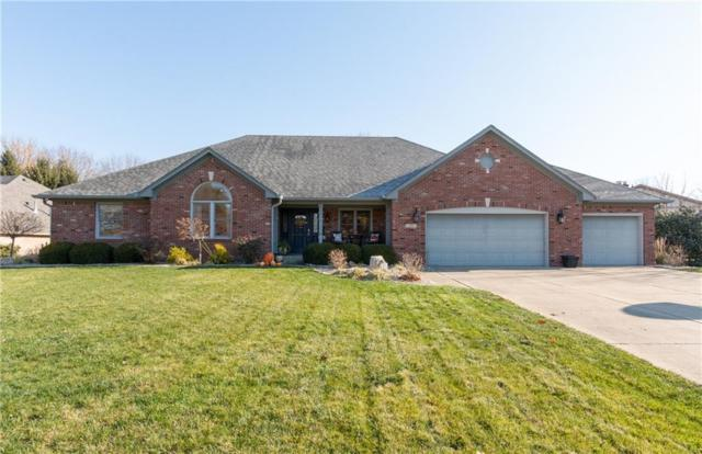 1301 Hillside Drive, Franklin, IN 46131 (MLS #21607041) :: Richwine Elite Group