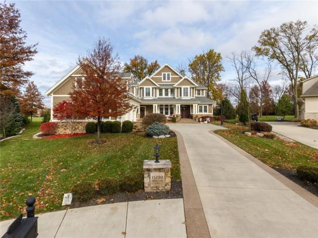 15730 Hidden Oaks Court, Carmel, IN 46033 (MLS #21608325) :: The ORR Home Selling Team