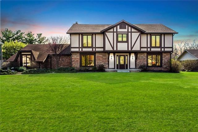 3839 S Creekside Drive, New Palestine, IN 46163 (MLS #21608630) :: The Indy Property Source