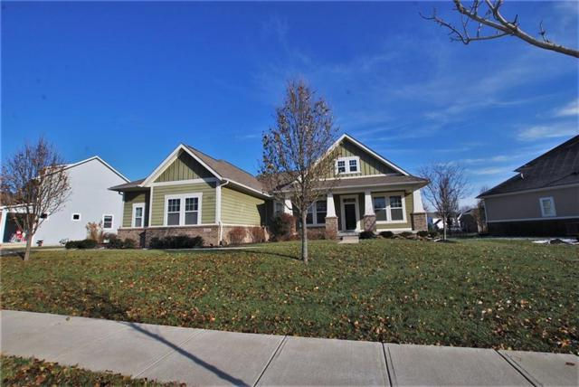 5835 Stroup Drive, Noblesville, IN 46062 (MLS #21608647) :: The Evelo Team