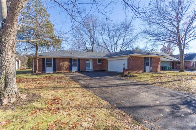 8037 Delbrook Drive, Indianapolis, IN 46260 (MLS #21609121) :: The Indy Property Source