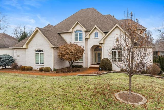 3654 Highland Park Drive, Greenwood, IN 46143 (MLS #21609321) :: The Indy Property Source