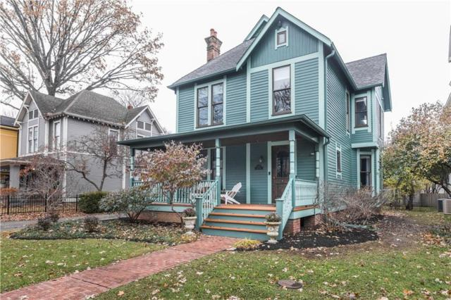 1347 N Park Avenue, Indianapolis, IN 46202 (MLS #21609330) :: The ORR Home Selling Team