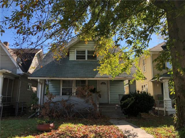 1161 W 35th Street, Indianapolis, IN 46208 (MLS #21609443) :: Mike Price Realty Team - RE/MAX Centerstone