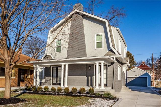 320 W Hampton Drive, Indianapolis, IN 46208 (MLS #21609914) :: Mike Price Realty Team - RE/MAX Centerstone