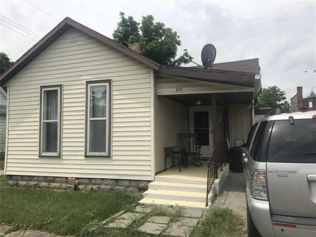 210 S Monroe Street, Hartford City, IN 47348 (MLS #21609943) :: The ORR Home Selling Team