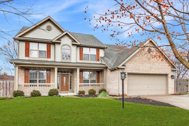 10542 Fox Creek Lane, Fishers, IN 46037 (MLS #21610501) :: Richwine Elite Group