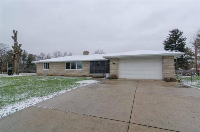 76 Kirk Drive E, Indianapolis, IN 46234 (MLS #21610601) :: Mike Price Realty Team - RE/MAX Centerstone
