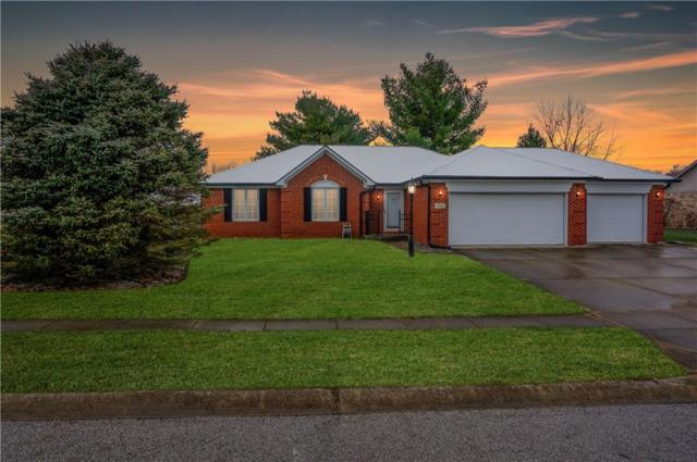 584 Summit Drive, Plainfield, IN 46168 (MLS #21610666) :: The Indy Property Source