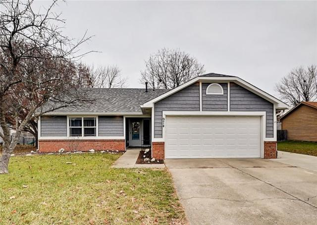 974 Spring Meadow Drive, Greenwood, IN 46143 (MLS #21610687) :: The Evelo Team