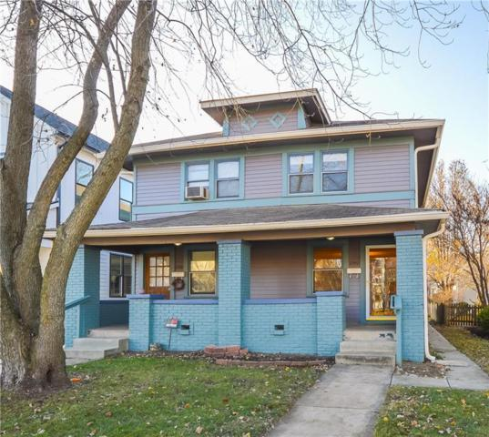 2340 N Delaware Street, Indianapolis, IN 46205 (MLS #21610779) :: Mike Price Realty Team - RE/MAX Centerstone