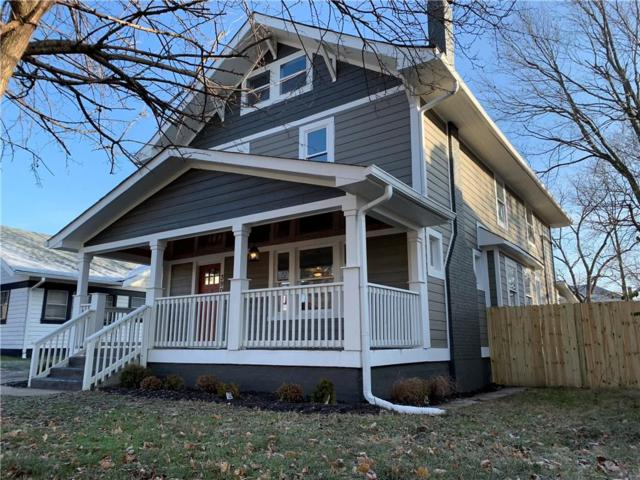 3905 Carrollton Avenue, Indianapolis, IN 46205 (MLS #21610966) :: The ORR Home Selling Team
