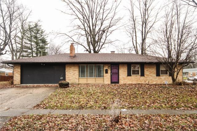 6301 Osborn Drive, Indianapolis, IN 46226 (MLS #21610994) :: The ORR Home Selling Team