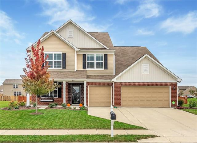 8877 Julia Ann Drive, Brownsburg, IN 46112 (MLS #21611000) :: The Indy Property Source