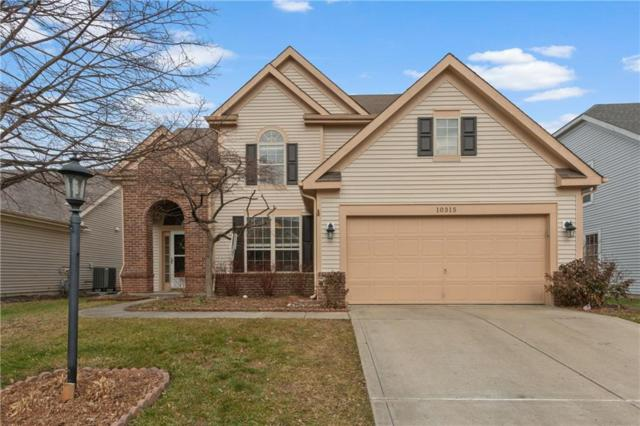 10315 Lakeland Drive, Fishers, IN 46037 (MLS #21611112) :: Richwine Elite Group