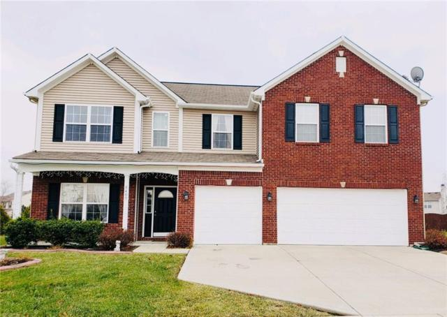8409 Belmont Drive, Avon, IN 46123 (MLS #21611158) :: The Indy Property Source