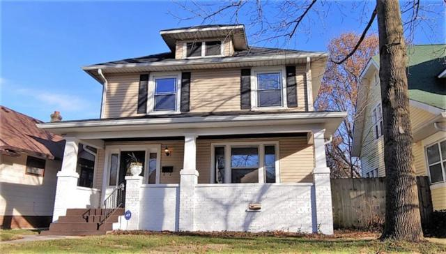621 N Bancroft Street, Indianapolis, IN 46201 (MLS #21611214) :: The ORR Home Selling Team
