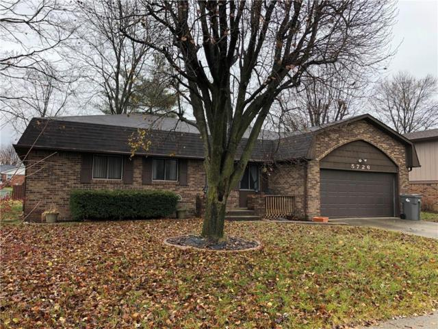 5726 Carry Back Drive, Indianapolis, IN 46237 (MLS #21611311) :: Mike Price Realty Team - RE/MAX Centerstone