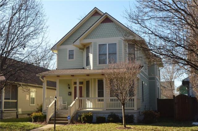 2326 N Talbott Street, Indianapolis, IN 46205 (MLS #21611804) :: Mike Price Realty Team - RE/MAX Centerstone