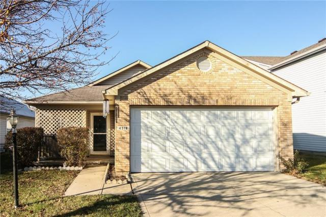 4318 Village Bend Drive, Indianapolis, IN 46254 (MLS #21611866) :: Mike Price Realty Team - RE/MAX Centerstone