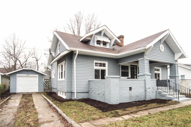 522 N Wallace Avenue, Indianapolis, IN 46201 (MLS #21611897) :: The ORR Home Selling Team