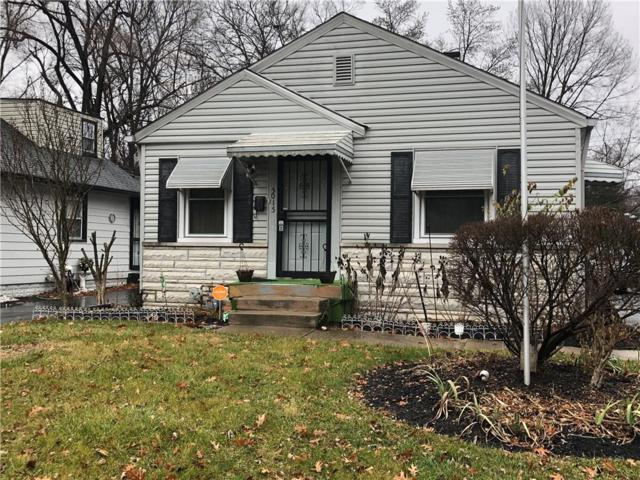 5015 Rosslyn Avenue, Indianapolis, IN 46205 (MLS #21612314) :: The ORR Home Selling Team