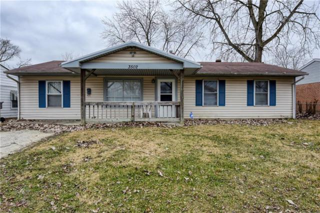 3502 N Lynhurst Drive, Indianapolis, IN 46224 (MLS #21612533) :: Mike Price Realty Team - RE/MAX Centerstone