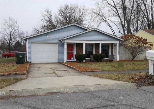 932 Alden Drive, Fortville, IN 46040 (MLS #21613060) :: The ORR Home Selling Team