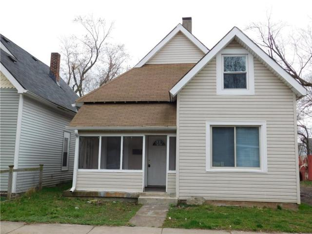 1553 W New York Street, Indianapolis, IN 46222 (MLS #21613157) :: The Evelo Team