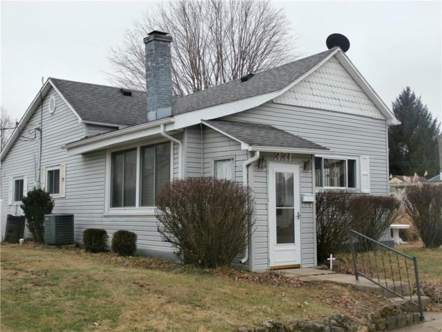 331 E Warrick Street, Knightstown, IN 46148 (MLS #21613563) :: Mike Price Realty Team - RE/MAX Centerstone